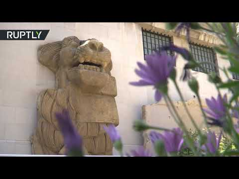 هدية ثمينة من إيطاليا لمتحف دمشق الوطني