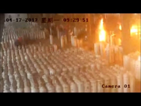 Arab Today, arab today footage gas cylinders explode