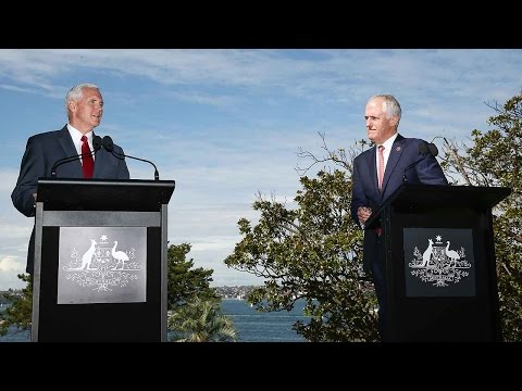Arab Today, arab today pence wraps up australia visit after trade
