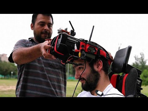 Arab Today, arab today paralyzed pilot uses drones