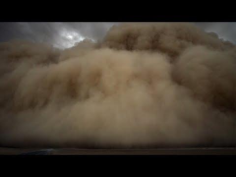 Arab Today, arab today sandstorm engulfs kashgar prefecture
