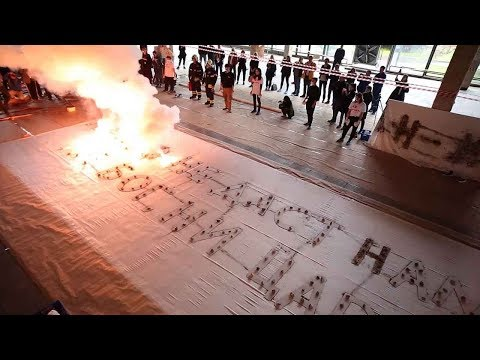 chinese artist tackles russian revolution