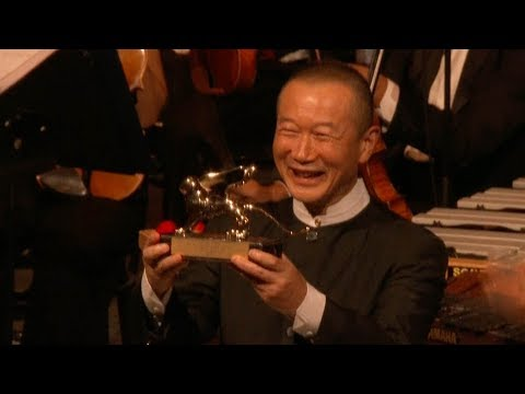 chinese composer honored with golden lion award