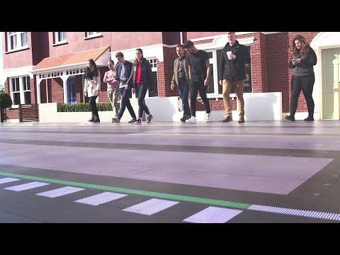 smart crossing prototype unveiled