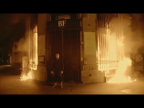 after setting fire to bank in paris