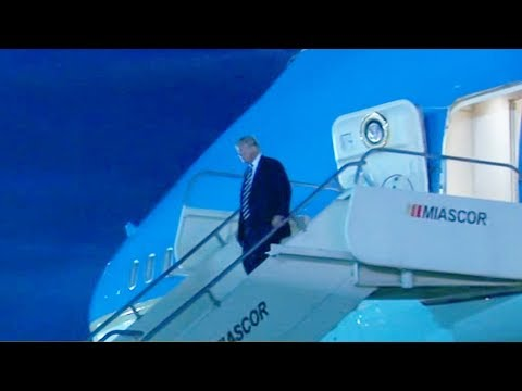us president arrives in the philippines