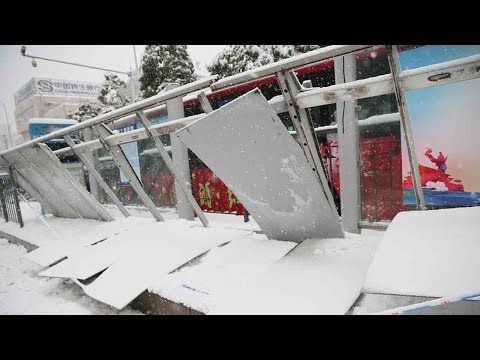 10 dead as heavy snowfall hits central