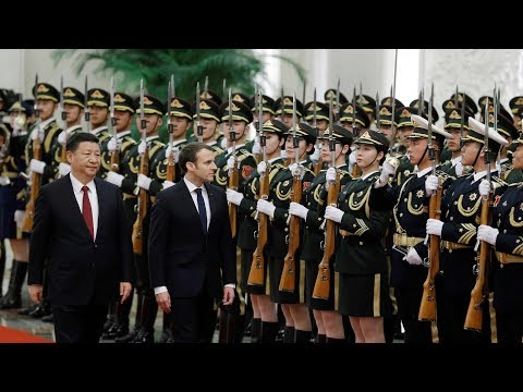 xi holds welcome ceremony