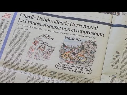 Arab Today, arab today offended italians sue charlie hebdo for amatrice pasta cartoons