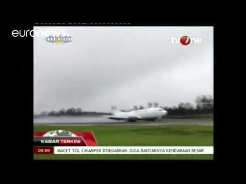 Arab Today, arab today plane skids off runway in indonesia