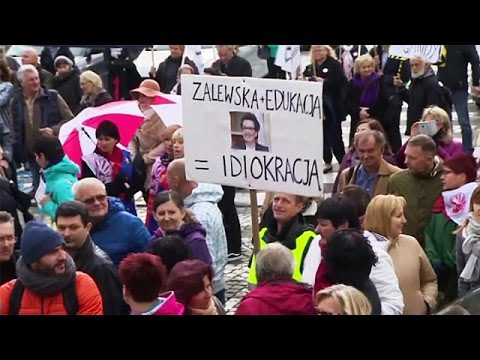 Arab Today, arab today polands teachers protest over education changes