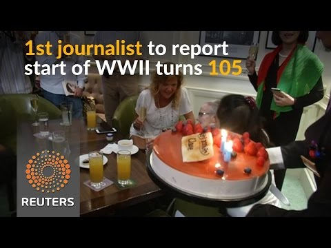 Arab Today, arab today world war iis first journalist turns 105