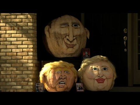 Arab Today, arab today donald trumpkin returns  with a pumpkin posse