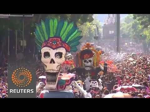 Arab Today, arab today mexico city comes alive with day of the dead parade