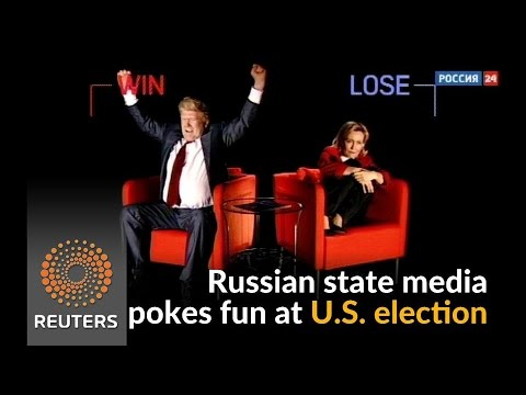 Arab Today, arab today russian state media features trump and clinton comic sketch