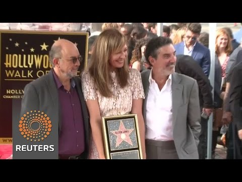 Arab Today, arab today west wings cj cregg allison janney gets star on walk of fame