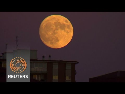 Arab Today, arab today supermoon rises in spain