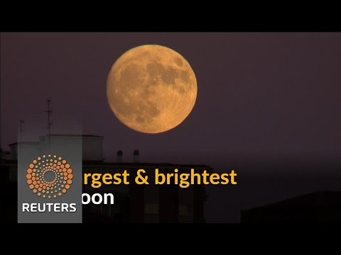 Arab Today, arab today supermoon spectacle wows skywatchers