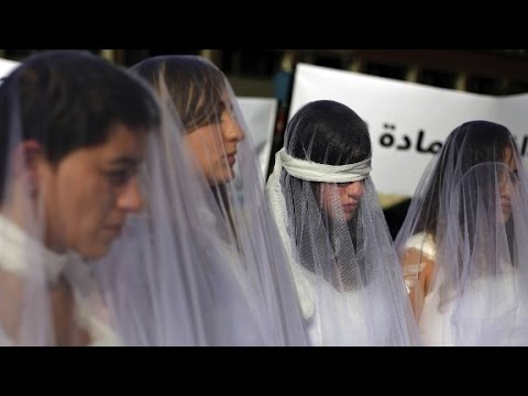Arab Today, arab today bloodied brides protest ancient rape law