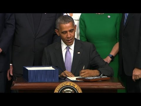 Arab Today, arab today obama signs cancer research bill
