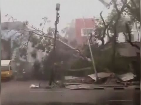Arab Today, arab today cyclone slams into southeast india