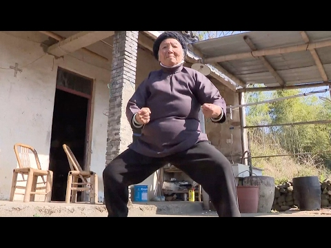 Arab Today, arab today kung fu grandma practices chinese martial arts