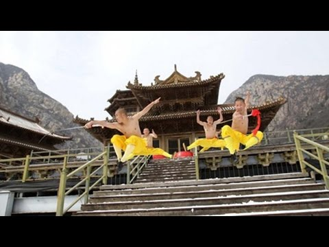 Arab Today, arab today chinas shaolin monks filmed practising kungfu
