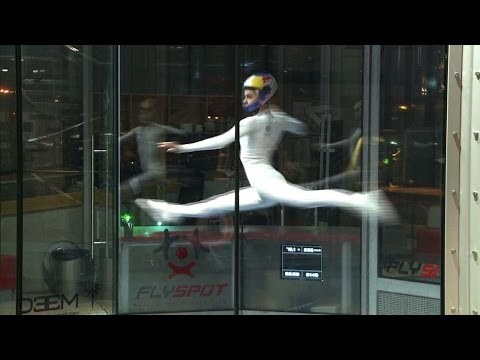 Arab Today, arab today pushing the envelope with freestyle indoor skydiving