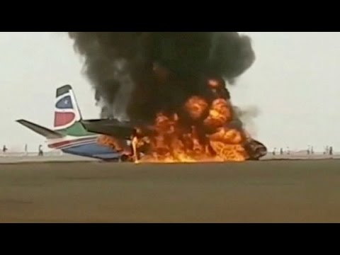 Arab Today, arab today escape from burning plane
