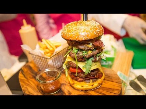 Arab Today, arab today burger sells for 10000 at dubai charity auction