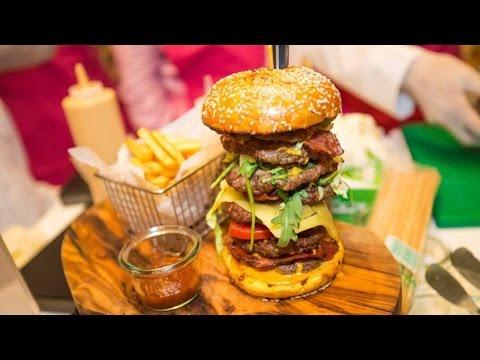 Arab Today, arab today burger sells for 10000 at dubai charity auction