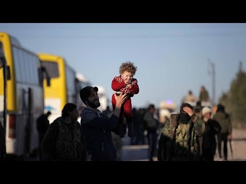 Arab Today, arab today fighters and families evacuated from homs