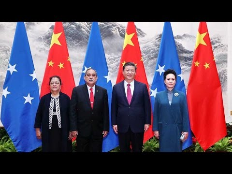Arab Today, arab today meets micronesian counterpart in beijing