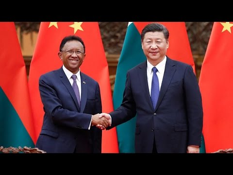 Arab Today, arab today meets with madagascan president