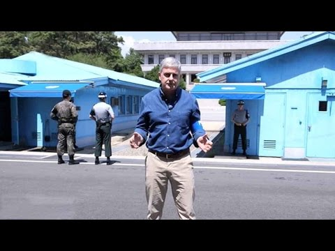 Arab Today, arab today cgtn reporter visits the korean demilitarized zone