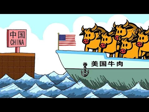 Arab Today, arab today trade of beef and poultry between us and china