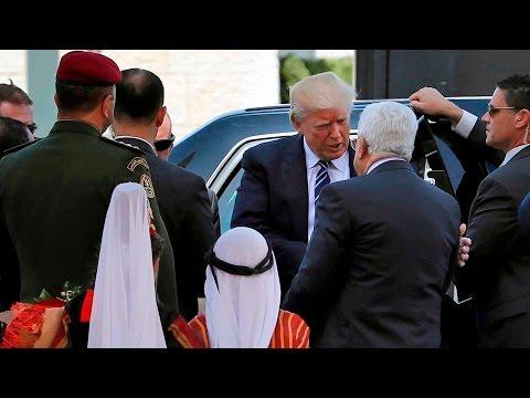 Arab Today, arab today trump visits bethlehem to see palestinian leader