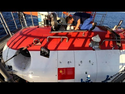 Arab Today, arab today jiaolong completes dive at world's deepest point