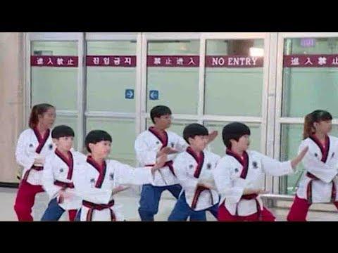 Arab Today, arab today dprk taekwondo delegation visits south korea