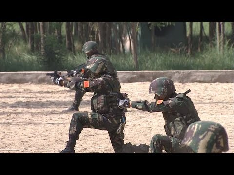 Arab Today, arab today elite chinese commandos make public debut