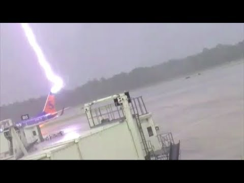 Arab Today, arab today lightning strikes plane electrocutes airport worker