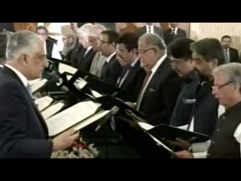 Arab Today, arab today pakistans new cabinet sworn in