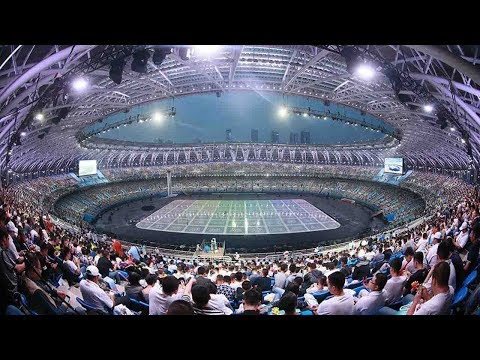 opens the 13th chinese national games in tianjin