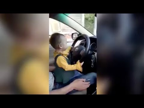 Arab Today, arab today 3yearold girl drives car sitting