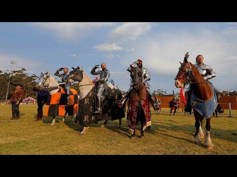 first world jousting championship wraps up