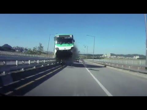 Arab Today, arab today korean bus crashes into bridge barrier