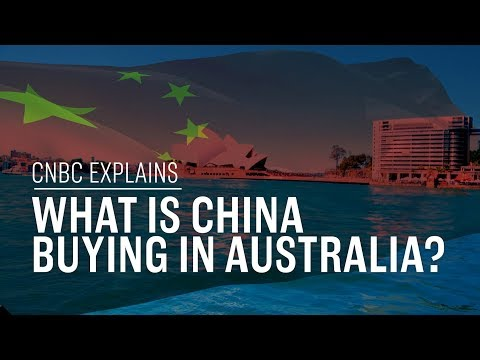 what is china buying in australia