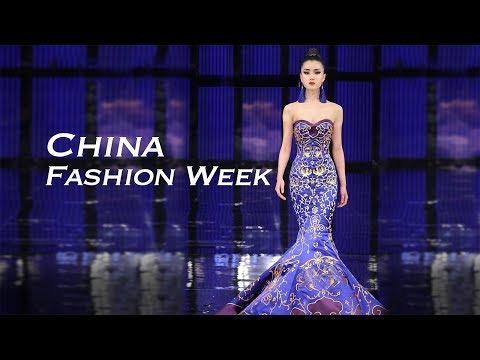 live china fashion week raises