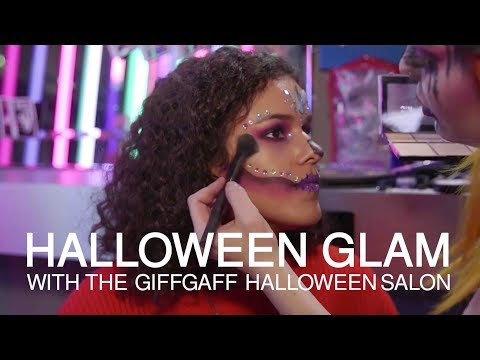glam halloween makeup how to get