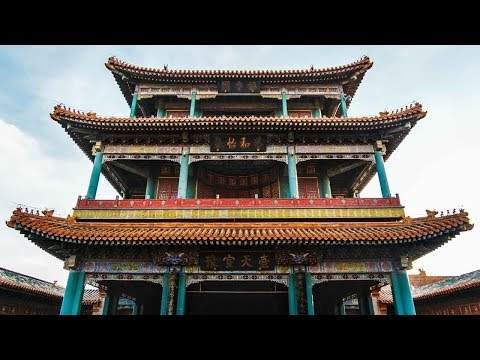 china welcomes president trump with peking opera